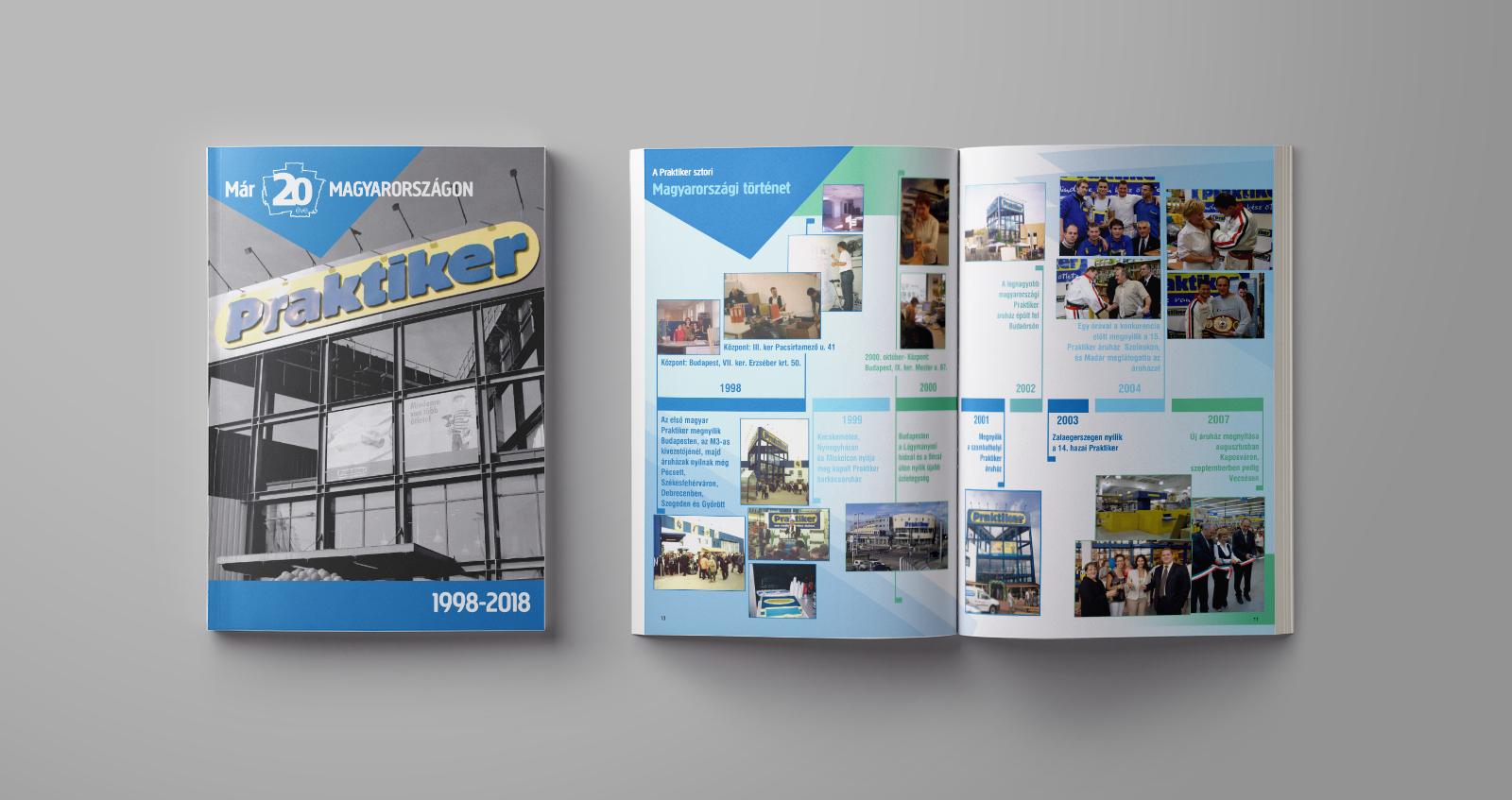 Praktiker – 20th anniversary magazine