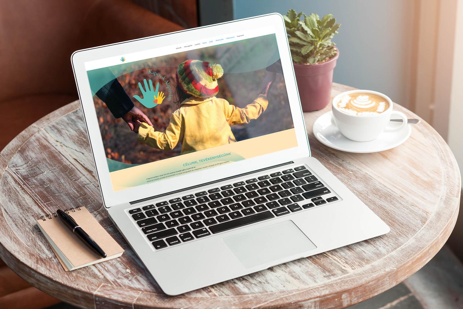 Creating a SEO-focused website for Kapcsok Foundation