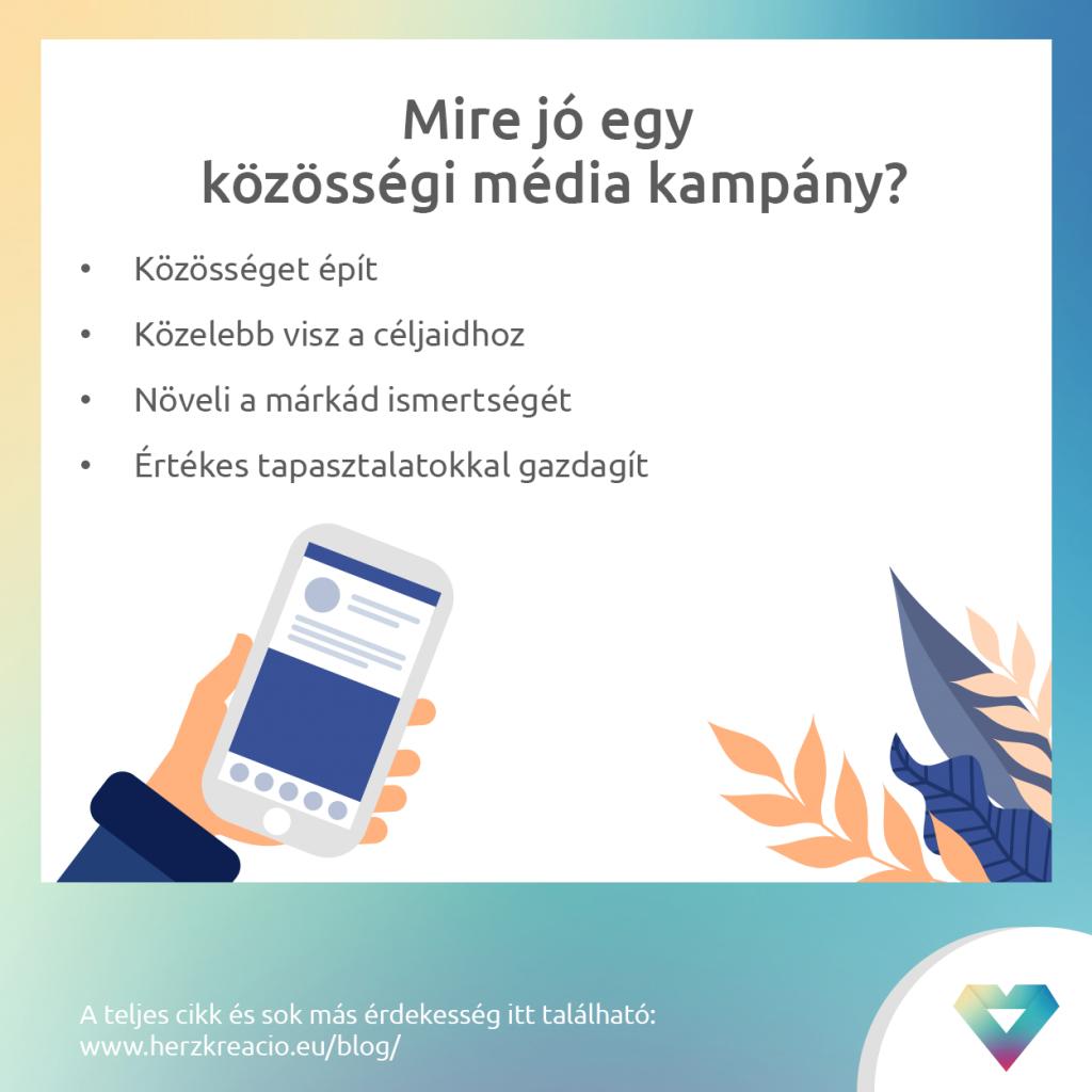 Közösségi média kampány