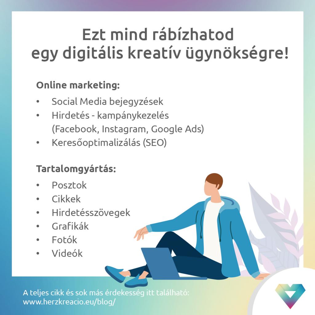 digitális kreatív ügynökség